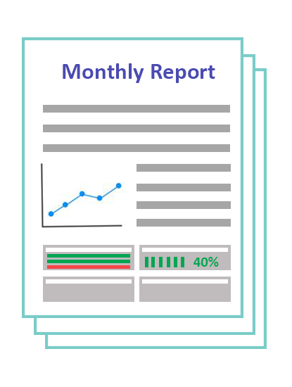monthly accountability kpi report
