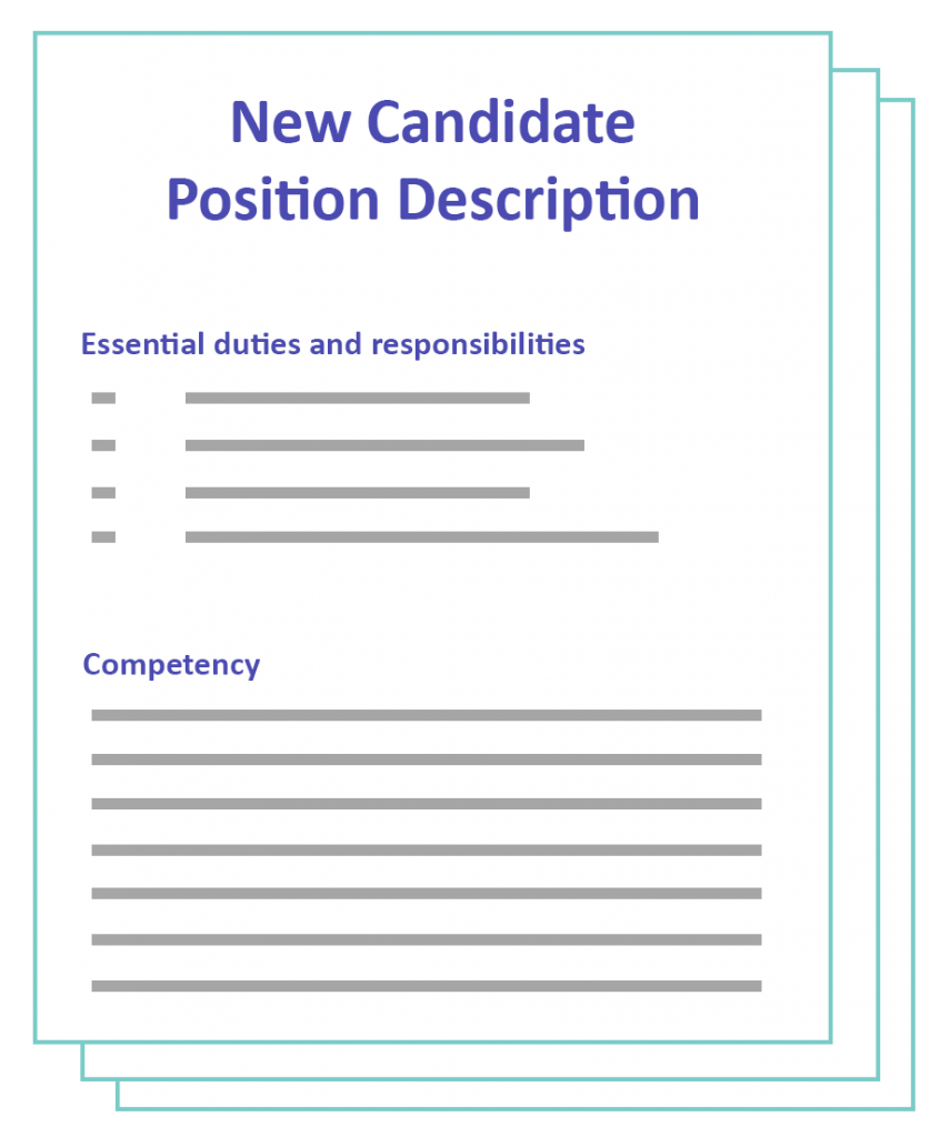 job candidate template