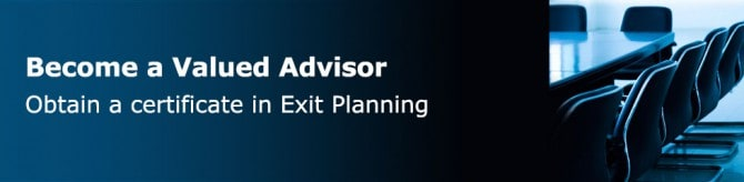 CERTIFICATE IN EXIT PLANNING