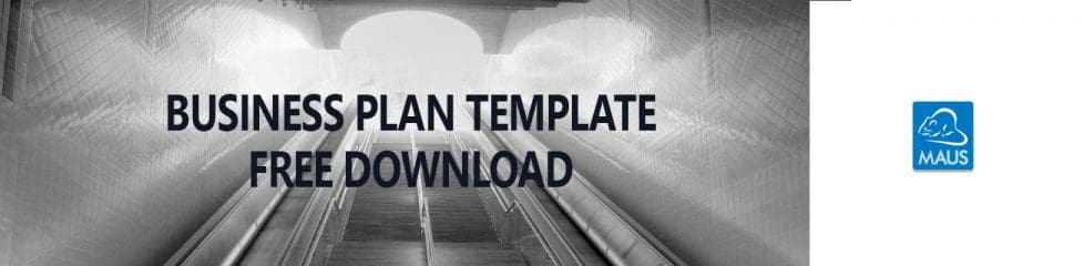 free business plan template download page